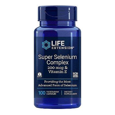 Super Selenium Complex 100 Cápsulas - Life Extension (Envio Internacional 10-20 FRETE GRÁTIS)