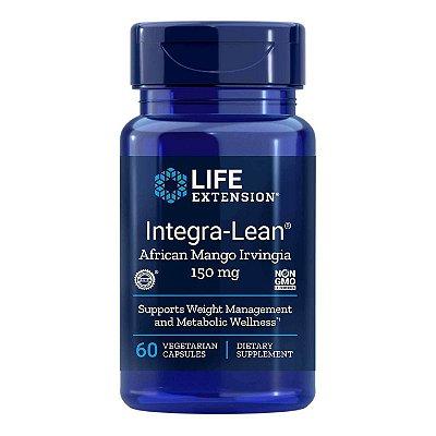 Integra-Lean Irvingia - 60 Cápsulas Vegetarianas - Life Extension (Envio Internacional 10-20 FRETE GRÁTIS)