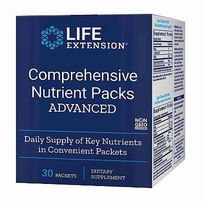 Pacotes de Nutrientes Abrangentes- 30 Pacotes - Life Extension (Envio Internacional 10-20 FRETE GRÁTIS)