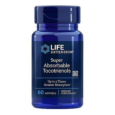 Tocotrienóis Super absorvíveis  60 Cápsulas em Gel - Life Extension(Envio Internacional 10-20 FRETE GRÁTIS)