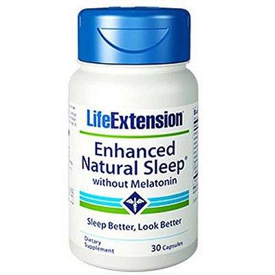 Sono Natural Melhorado - 30 Cápsulas - Life Extension   (Envio Internacional 10-20 FRETE GRÁTIS)