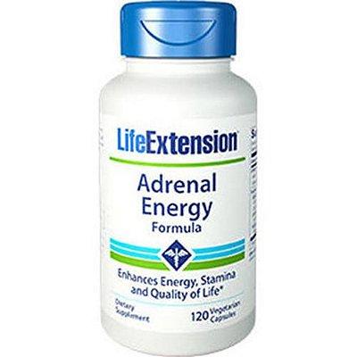 Fórmula de Energia Adrenal - 120 Cápsulas - Life Extension   (Envio Internacional 10-20 FRETE GRÁTIS)