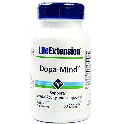 Dopa-Mind - 60 comprimidos vegetarianos - Life Extension   (Envio Internacional 10-20 FRETE GRÁTIS)