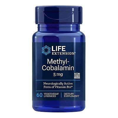 Metilcobalamina - 60 pastilhas - Life Extension   (Envio Internacional 10-20 FRETE GRÁTIS)