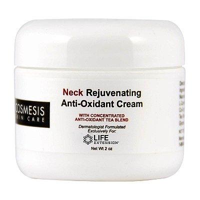 Creme Anti-Oxidante Rejuvenescedor para Pescoço 2 oz -  Life Extension   (Envio Internacional 10-20 FRETE GRÁTIS)