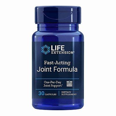 Fórmula de ação rápida para articulações - 30 cápsulas - Life Extension   (Envio Internacional 10-20 FRETE GRÁTIS)