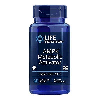 AMPK Metabolic Activator - 30 Veg Tablets - Life Extension   (Envio Internacional 10-20 FRETE GRÁTIS)