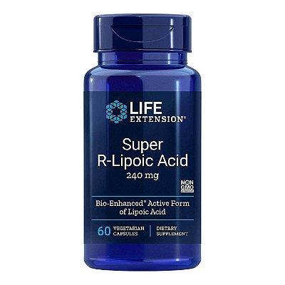 Super R-Lipoic Acid 240 mg - 60 Cápsulas Vegetarianas - Super R-Lipoic Acid 240 mg - 60 Cápsulas Vegetarianas