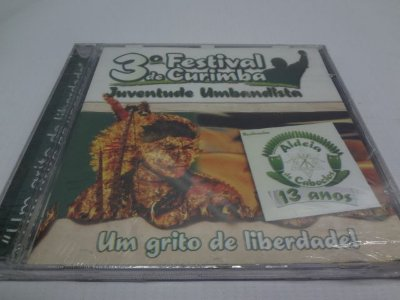 Cd Aldeia de Caboclos - 3º Festival de Curimba