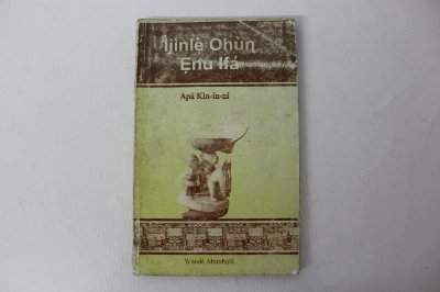 Livro Ìjìnlè Ohùn Enu Ifá