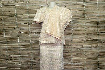 Moda feminina preto prata rosa brinco camiseta rommanel - Multiplace 35ea3de2c9
