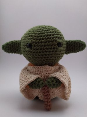 Baby Yoda - Desafio Crochet Land de Janeiro - Crochet Land   400x298