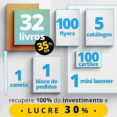 COMBO MASTER - Material de divulgação do Consultor de Leitura + 32 livros com 35% de desconto