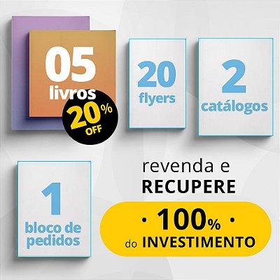 COMBO INICIAL - Material de divulgação do Consultor de Leitura + 5 livros com 20% de desconto
