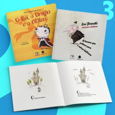 Garanta a doação de 3 livros na SEMANA DA CRIANÇA - ACELBRA