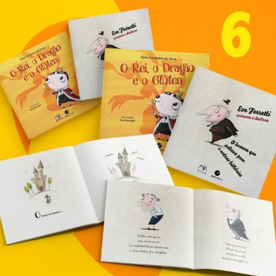 Garanta a doação de 6 livros na SEMANA DA CRIANÇA - ACELBRA