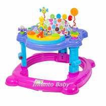 Andador Centro De Atividades Bebê Infantil Baby Style  - ROSA