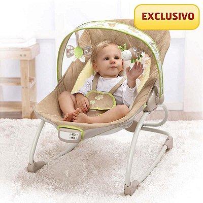 Cadeira Bebê Descanso Musical Vibratória Mastela 6910