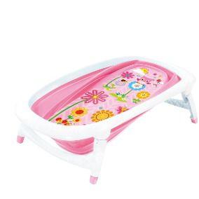 Banheira para Bebê Best Color Baby Rosa