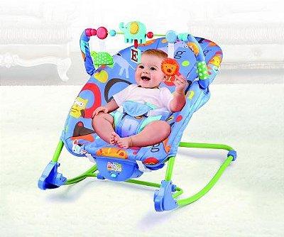 Cadeira Bebê Descanso Vibratória Musical Balanço Amigos do Bosque - Baby Style