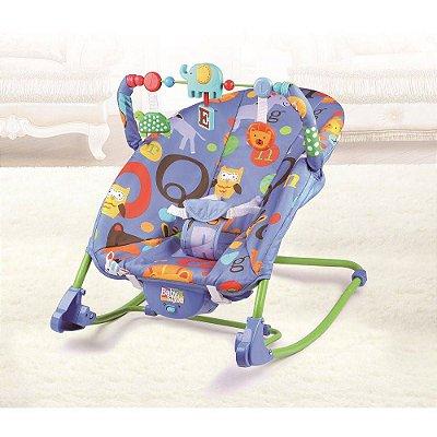Cadeira Cadeirinha Bebê Descanso Vibratória Musical  - Amigos do Bosque
