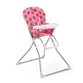 Cadeira Alimentação Bebê Cangoo Baby Style -  Morango