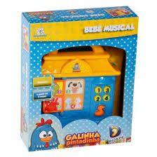 Bebê Musical Galinha Pintadinha - Dican