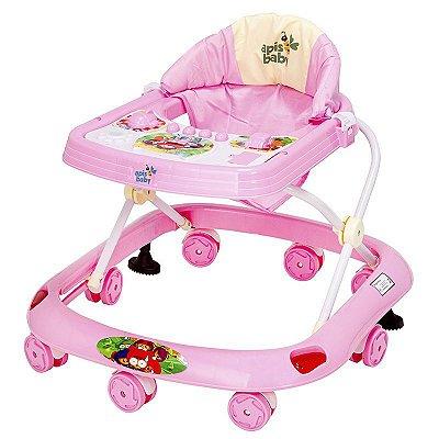 Andador Apis Baby - Rosa