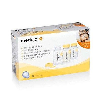 Kit Frasco Para Leite 3 Un. 150 ml - Medela