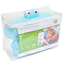 Almofada Para Banho Azul - Baby Pil