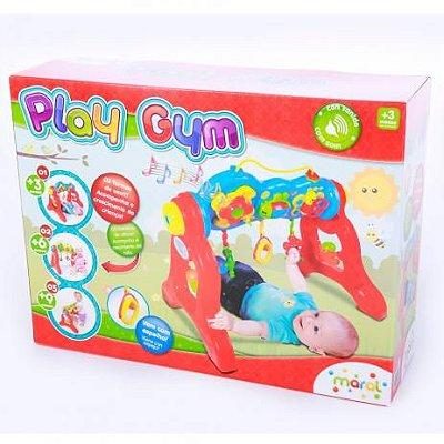 Centro De Atividades Play Gym Maral  3x1  Colorido - Maral