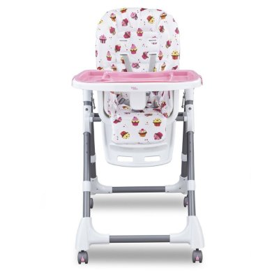 Cadeira de Alimentação Cherry - Rosa - Baby Style