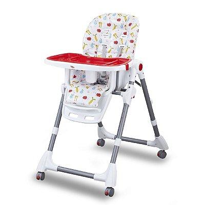 Cadeira de Alimentação Cherry - Vermelha - Baby Style
