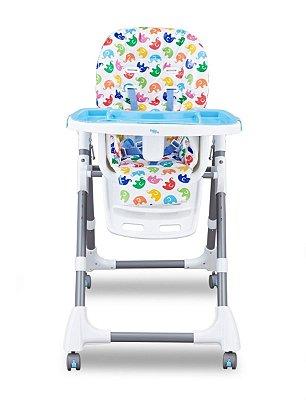 Cadeira de Alimentação Cherry - Azul - Baby Style