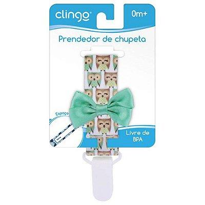Prendedor De Chupeta - Coruja - Clingo