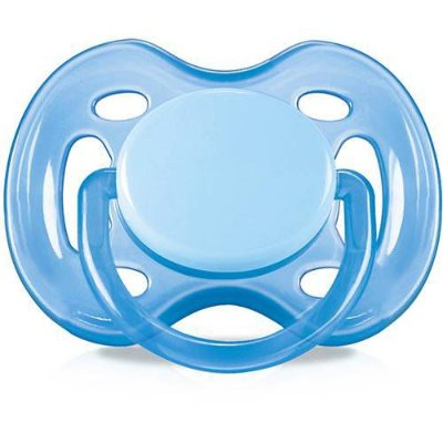 Chupeta Free Flow BPA Free (0-6 meses) - Azul - Philips Avent