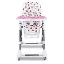 Cadeira De Alimentação Cherry Baby Style Rosa