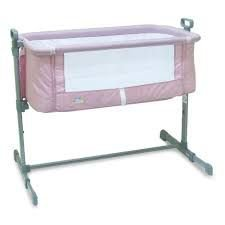 Berço Lateral Side By Side Co-Sleeper Rosa Baby Style