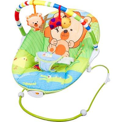 Cadeirinha de Descanso Vibratória Poly Leão - Baby Style