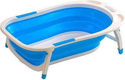 Banheira Dobrável Clean Azul -  Baby Style