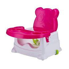Booster para Refeição Ursinho Rosa - Baby Style