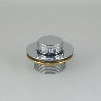 Dreno Pequeno Banheira Metal Cromado