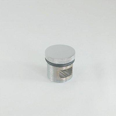 Plug Dreno Banheira Metal Cromado M39