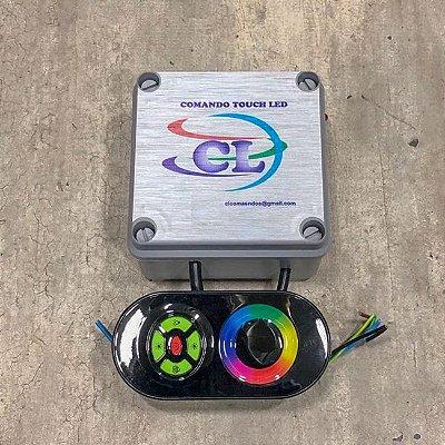 Comando LED RGB com Controle Touch