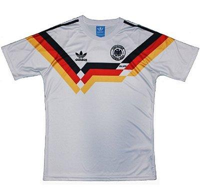 6a05bc8ba42 Camisa Alemanha Copa do Mundo 2006 (Home-Uniforme 1) - ACERVO DAS ...