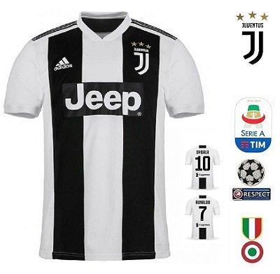 6070c4b6a6c71 Camisa Juventus 2018-19 (Home-Uniforme 1) -