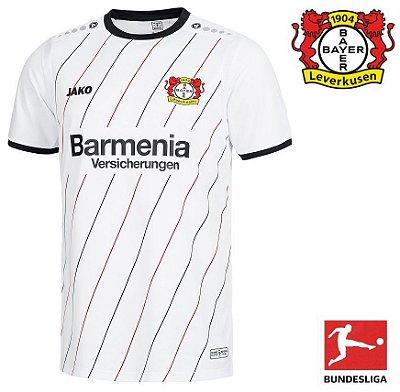 Camisa Bayer 04 Leverkusen 2018-19 (Comemorativa 30 anos Conquista da Taça  UEFA 1988 fa525b36b3c