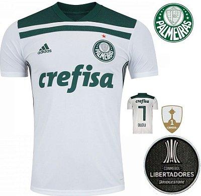Camisa Palmeiras 2018-19 (Away-Uniforme 2) -