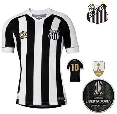 Camisa Santos 2018-19 (Away-Uniforme 2) - torcedor ec6b307d0d349