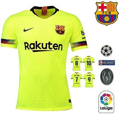 33ecef57d9 Camisa Barcelona 2018-19 (Away-Uniforme 2) -